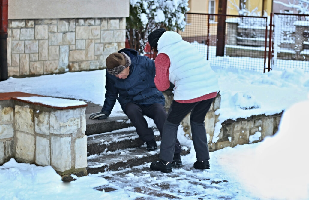 ohio lawyer for snowy icy personal injury