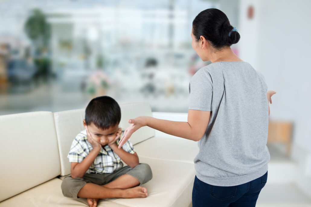 holding a child liable in court